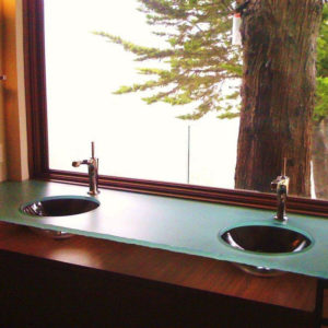 Glass Sink Design Monterey