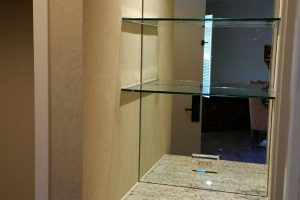 Glass Shelf Design Monterey